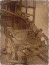 Old fire truck photographs of historic engine from the nineteenth century Stock Photos