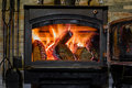 Old fireplace Royalty Free Stock Photo