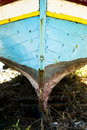 An old fishing boat. Royalty Free Stock Photos