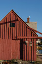Old Fishing Shack  Motif Number One back side Royalty Free Stock Photo