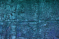 Old flaking blue paint Royalty Free Stock Photo