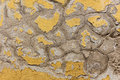 Old flaking color on a wall Royalty Free Stock Photo