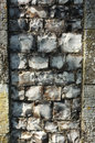 Old flint wall detail background of an Royalty Free Stock Images