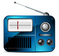Old FM radio icon Royalty Free Stock Photos