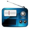 Old FM radio icon Royalty Free Stock Photo