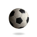 Old football the sporting goods Royalty Free Stock Image