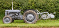 Old ford fergusen tractor and plow