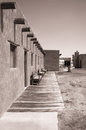 Old fort bliss at view from the military site el paso texas Stock Images