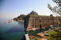 Old fort in corfu Royalty Free Stock Photo