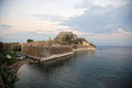 Old fort in corfu Royalty Free Stock Image