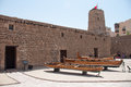 Old fort in Dubai, UAE Royalty Free Stock Photo