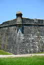 Old fort historic castillo de san marcos in st augustine florida oldest in the united states Royalty Free Stock Photos