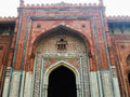 Old fort at new delhi a historical place of india Royalty Free Stock Images