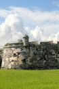 Old fort wall in Havana, Cuba. Royalty Free Stock Photography