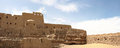 Old fortress close to aswan in egypt Stock Images