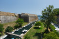 Old Fortress at Corfu, Greece Royalty Free Stock Photo