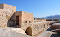 Old fortress, Crete, Greece, Europe Royalty Free Stock Photo