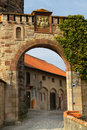 Old Fortress Gate Royalty Free Stock Images