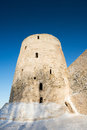 Old fortress in Izborsk Royalty Free Stock Photo