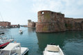 Old fortress in livorno town city of region of tuscany italy Stock Photos