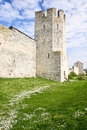 Old fortress tower visby sweden Stock Photography