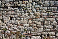 Old fortress wall repaired hundreds of times during centuries, Kalemegdan, Belgrade Royalty Free Stock Photo