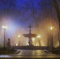 Old fountain in Mariinsky Park Royalty Free Stock Photo