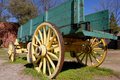 Old Freight Wagon Royalty Free Stock Photo