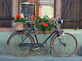 Old french bike Royalty Free Stock Image