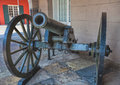 Old French Cannon, French Quarter, New Orleans Royalty Free Stock Photo
