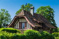 Old French style villa Royalty Free Stock Photo
