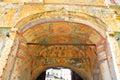 Old frescoes in Kirillo-Belozersky monastery.