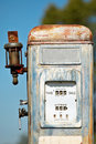Old Fuel Gas Pump Royalty Free Stock Photos