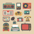 Old gadget icon Royalty Free Stock Photo
