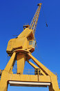 Old gantry crane Stock Photos