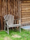 Old Garden Chair Royalty Free Stock Images
