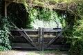 Old garden gate Royalty Free Stock Photo