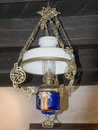 Old gas lamp Royalty Free Stock Photo