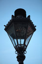 Old gas lamp at the Upper Town of Zagreb, Croatia Royalty Free Stock Photo