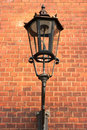 Old gas lantern Stock Photography