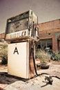 Starý plyn stanica