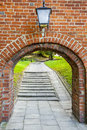 Old gate - Frombork Stock Photos