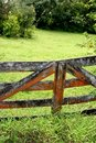 Old Gate on the Road to Hana Stock Image