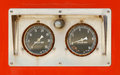 Old gauges Royalty Free Stock Photo