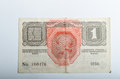 Old german banknotes money background all real Stock Photography