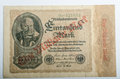 Old german banknotes money background all real Royalty Free Stock Photos