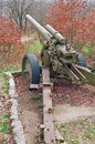 Old German cannon on position