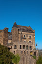 Old german castle rebuilt in the hotel a beautiful Royalty Free Stock Photography