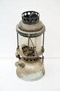 Old German gas lamp Royalty Free Stock Photo