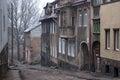 Old german street.